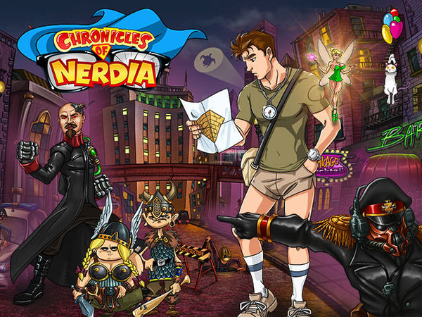 Bild zu Top-Spiel Chronicles of Nerdia
