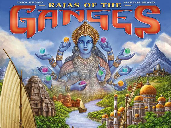 Bild zu Alle Brettspiele-Spiel Rajas of the Ganges