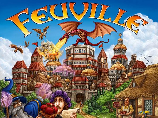 Bild zu Alle Brettspiele-Spiel Feuville