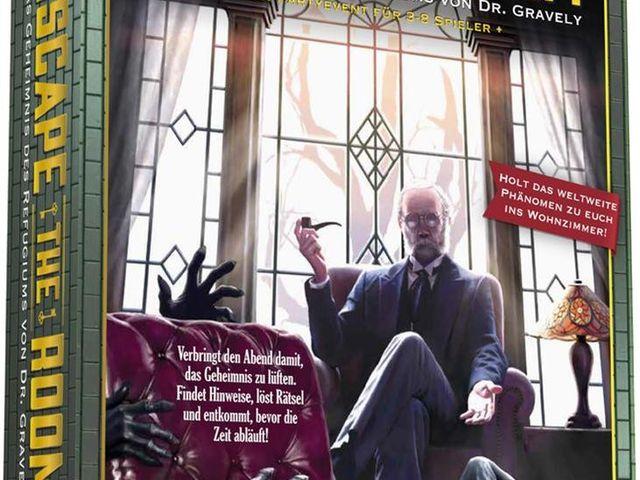 Escape the Room: Das Geheimnis des Refugiums von Dr. Gravely Bild 1