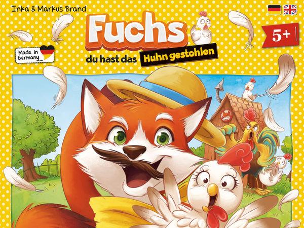 Bild zu Alle Brettspiele-Spiel Fuchs, Du hast das Huhn gestohlen