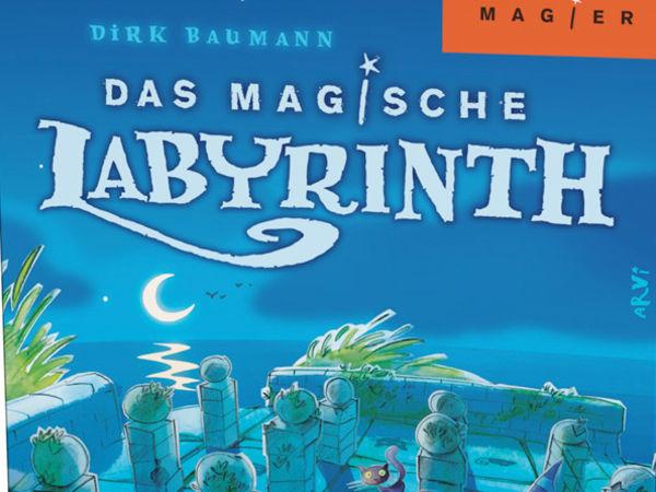 Bild zu Frühjahrs-Neuheiten-Spiel Das magische Labyrinth: Reisespiel