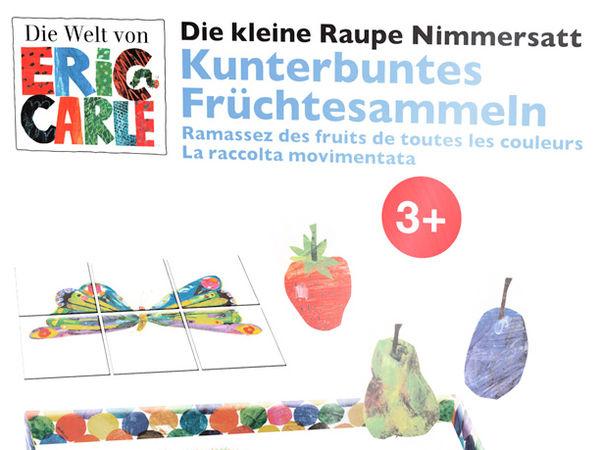 Bild zu Alle Brettspiele-Spiel Die kleine Raupe Nimmersatt: Kunterbuntes Früchtesammeln