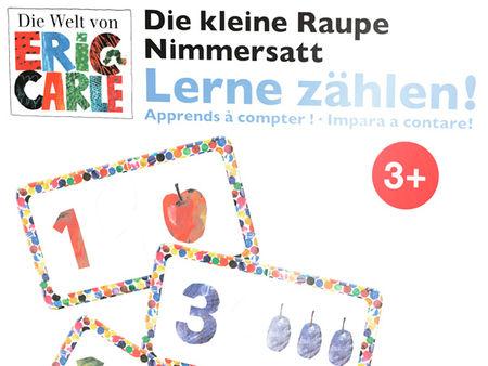Die kleine Raupe Nimmersatt: Lerne zählen!