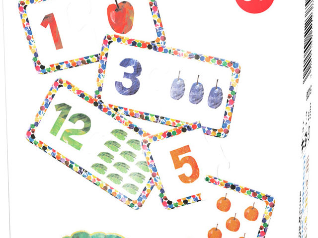 Die kleine Raupe Nimmersatt: Lerne zählen! Bild 1
