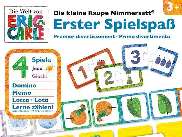 Bild zu Alle Brettspiele-Spiel Die kleine Raupe Nimmersatt: Erster Spielspaß