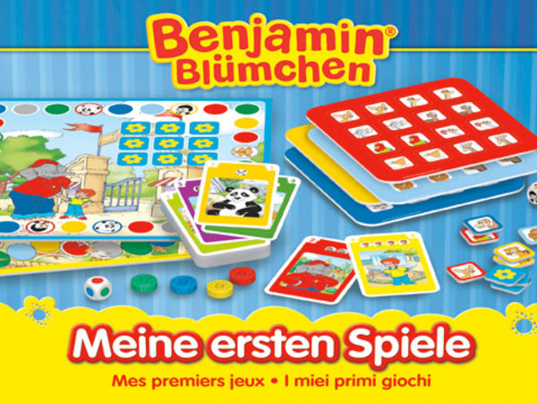 Bild zu Alle Brettspiele-Spiel Benjamin Blümchen: Meine ersten Spiele