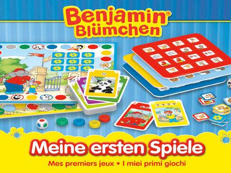 Benjamin Blümchen: Meine ersten Spiele