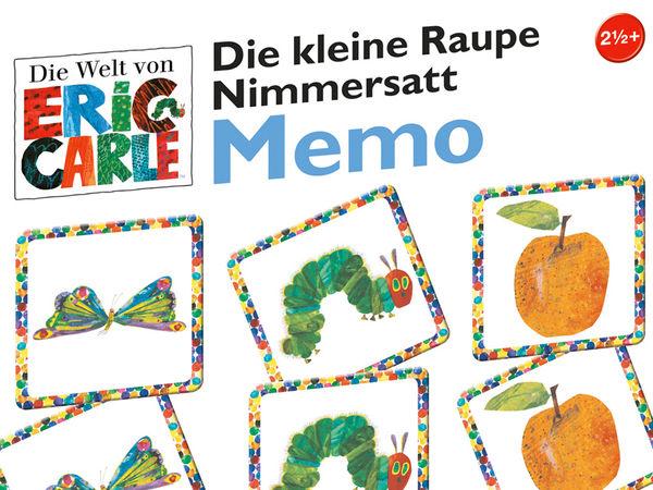 Bild zu Alle Brettspiele-Spiel Die kleine Raupe Nimmersatt: Memo