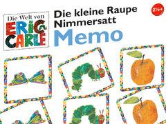 Die kleine Raupe Nimmersatt: Memo