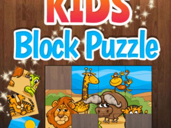 Bild zu Kinder-Spiel Kids Block Puzzle