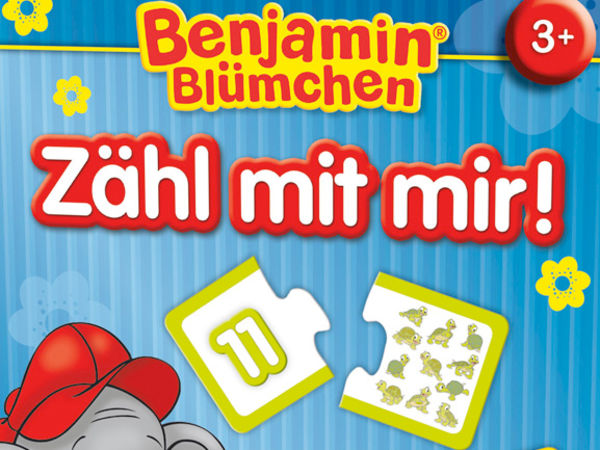 Bild zu Alle Brettspiele-Spiel Benjamin Blümchen: Zähl mit mir!