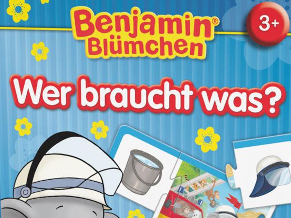 Bild zu Alle Brettspiele-Spiel Benjamin Blümchen: Wer braucht was?