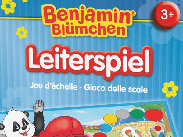 Bild zu Alle Brettspiele-Spiel Benjamin Blümchen: Leiterspiel