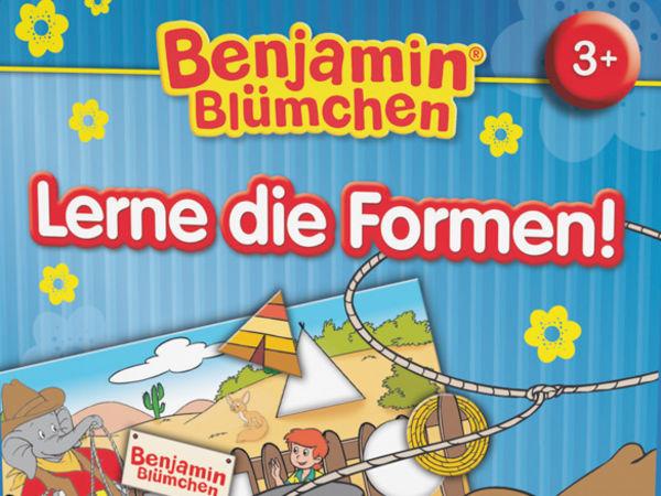 Bild zu Alle Brettspiele-Spiel Benjamin Blümchen: Lerne die Formen!