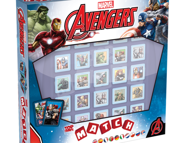 Top Trumps Match: Marvel Avengers Bild 1