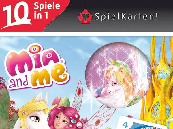 Bild zu Frühjahrs-Neuheiten-Spiel SpielKarten! Mia and me
