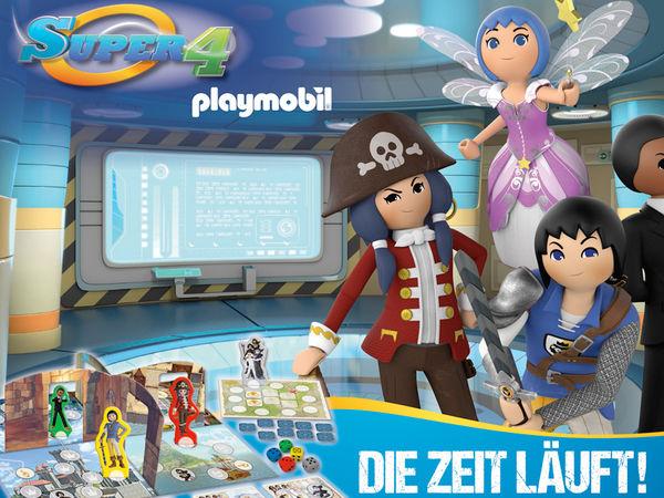 Bild zu Alle Brettspiele-Spiel Playmobil: Super 4 - Die Zeit läuft!