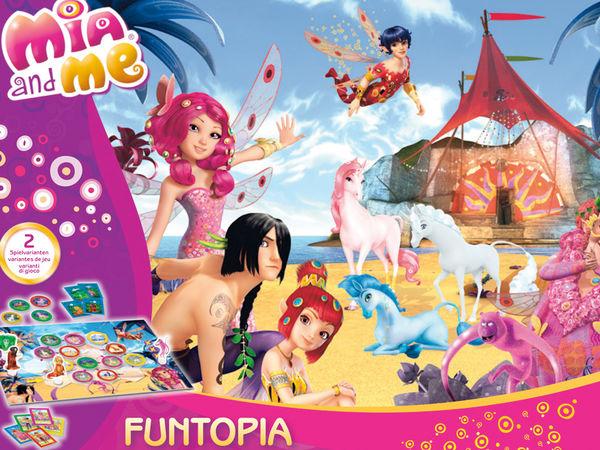 Bild zu Alle Brettspiele-Spiel Mia and me: Funtopia