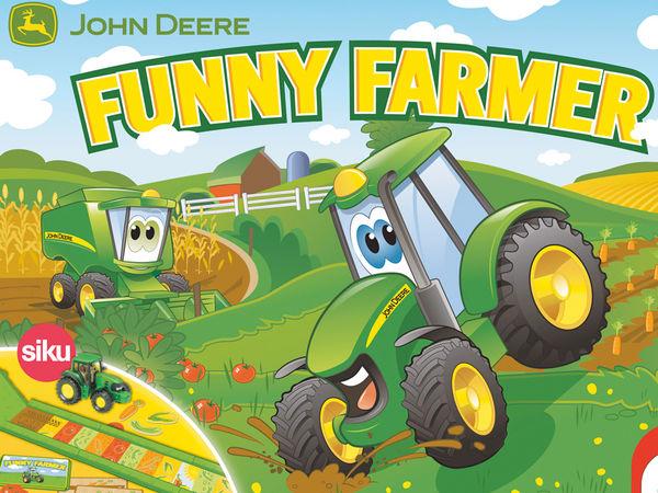Bild zu Alle Brettspiele-Spiel John Deere: Funny Farmer