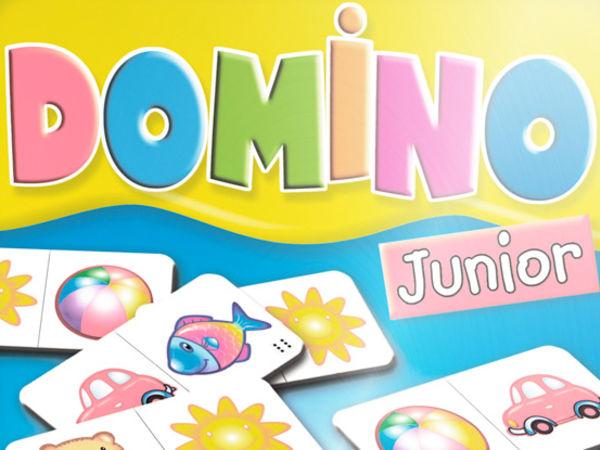 Bild zu Alle Brettspiele-Spiel Domino Junior