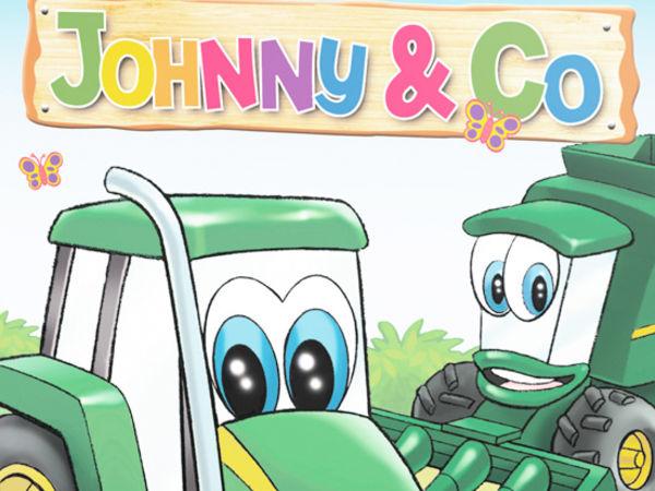 Bild zu Alle Brettspiele-Spiel John Deere: Johnny & Co.