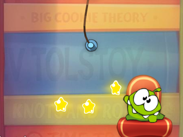 Bild zu Top-Spiel Cut the Rope Experiments
