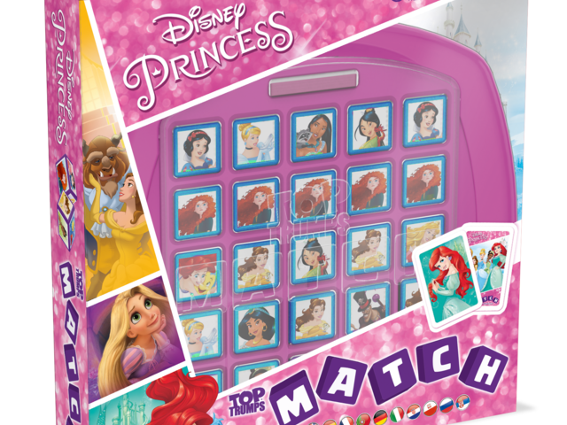 Top Trumps Match: Disney Princess Bild 1