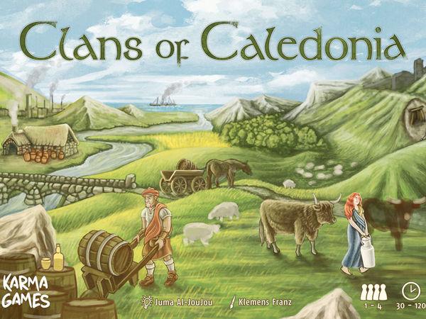 Bild zu Alle Brettspiele-Spiel Clans of Caledonia