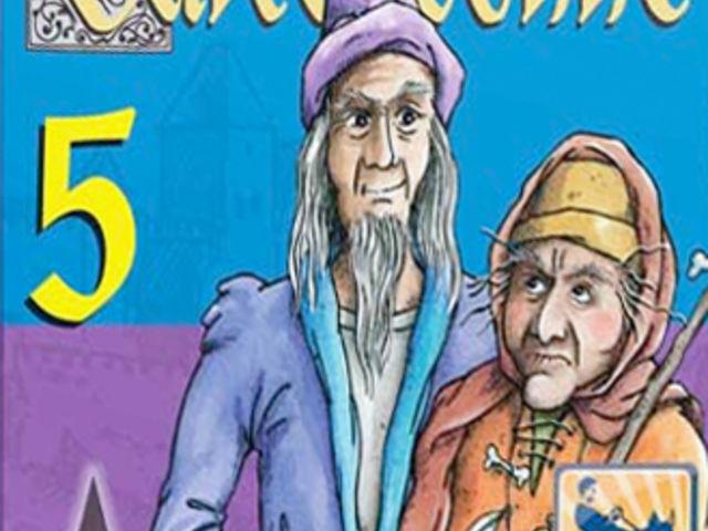 Carcassonne Mini 5: Magier & Hexe Bild 1