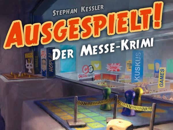 Bild zu Alle Brettspiele-Spiel Ausgespielt! Der Messe-Krimi