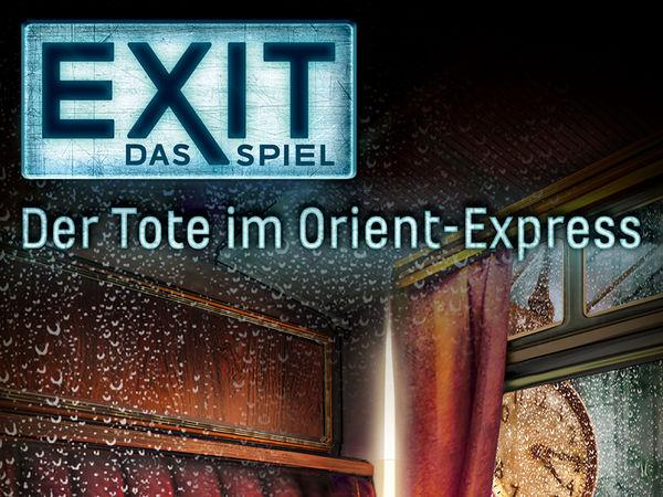 Bild zu Alle Brettspiele-Spiel Exit - Das Spiel: Der Tote im Orient-Express