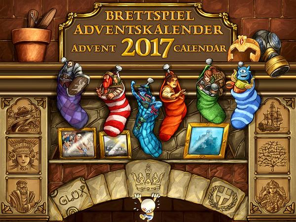 Bild zu Alle Brettspiele-Spiel Brettspiel-Adventskalender 2017