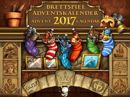 Brettspiel-Adventskalender 2017