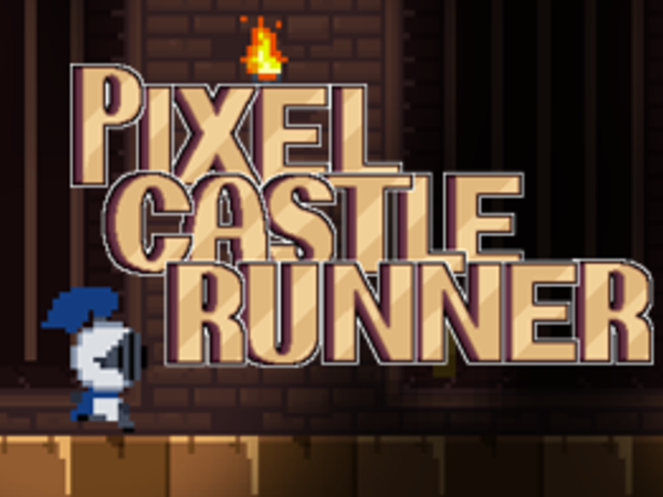 Bild zu Geschick-Spiel Pixel Castle Runner