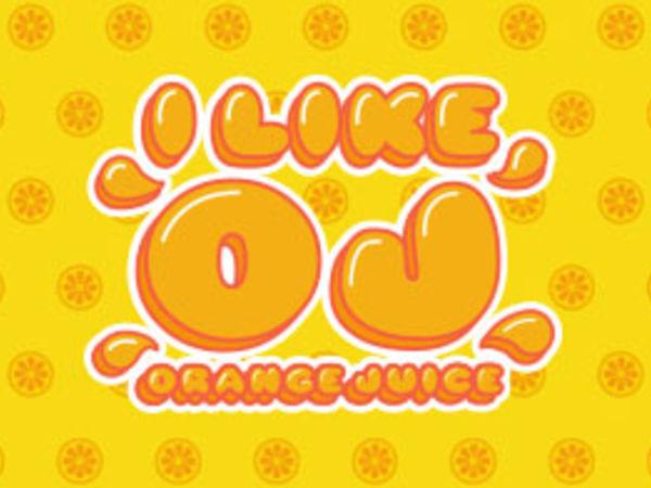 Bild zu Geschick-Spiel I Like Orange Juice