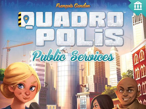 Bild zu Alle Brettspiele-Spiel Quadropolis: Public Services