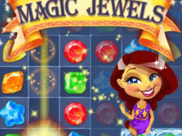 Bild zu Mädchen-Spiel Magic Jewels