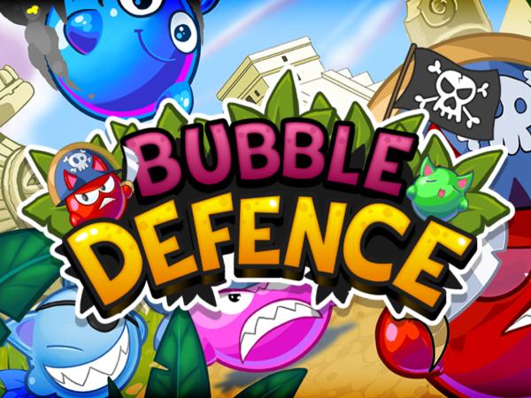 Bild zu HTML5-Spiel Bubble Defence