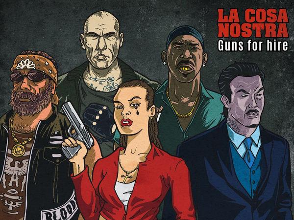 Bild zu Alle Brettspiele-Spiel La Cosa Nostra: Guns For Hire