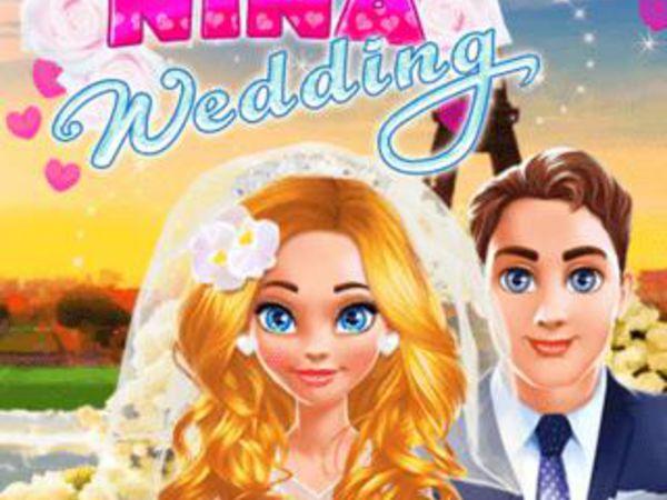 Bild zu Mädchen-Spiel Nina Wedding