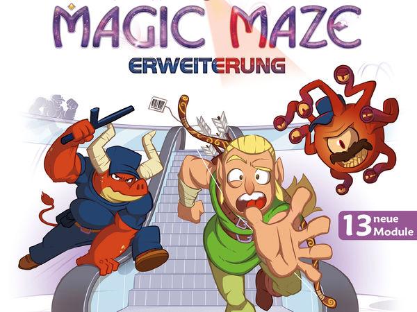 Bild zu Alle Brettspiele-Spiel Magic Maze - Erweiterung: Alarmstufe Rot