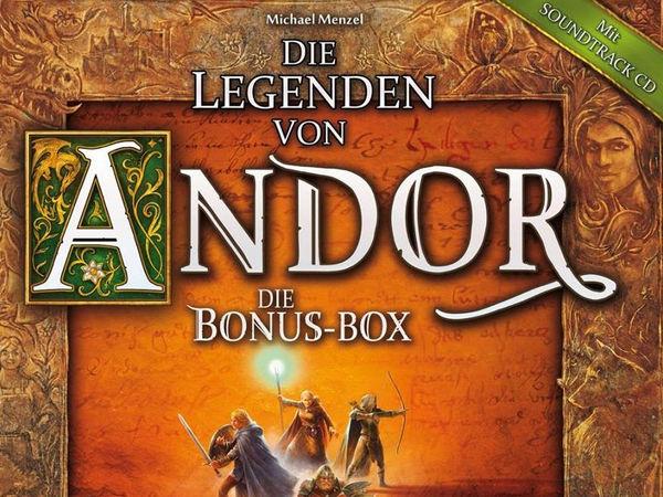 Bild zu Alle Brettspiele-Spiel Die Legenden von Andor: Bonusbox