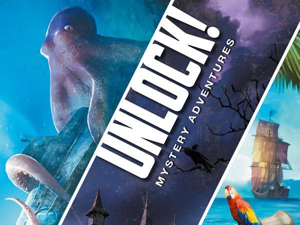 Bild zu Alle Brettspiele-Spiel Unlock! Mystery Adventures