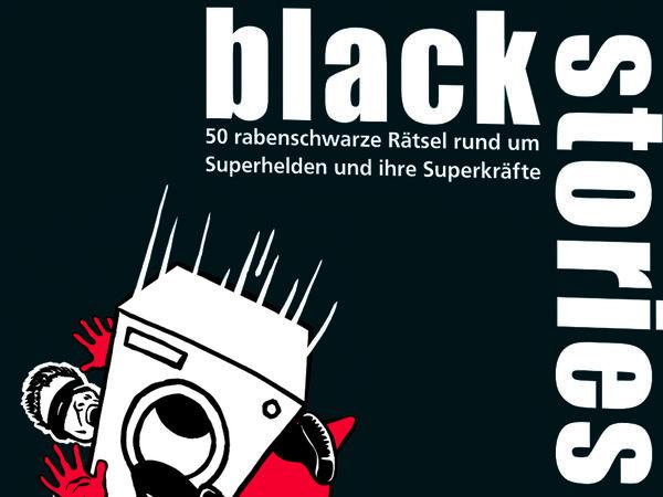 Bild zu Alle Brettspiele-Spiel Black Stories: Superheroes