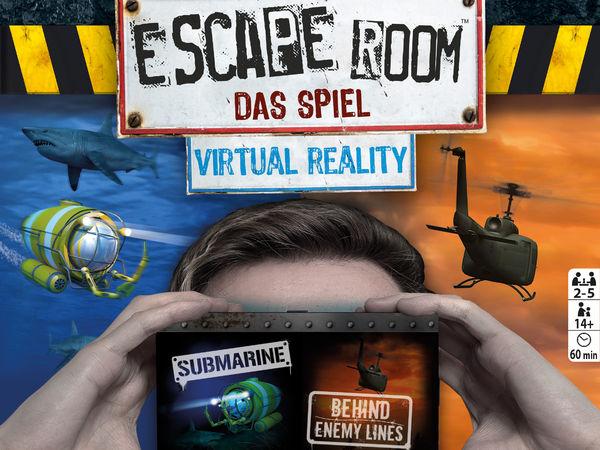 Bild zu Alle Brettspiele-Spiel Escape Room: Das Spiel - Virtual Reality