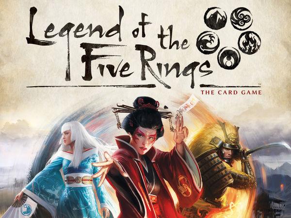 Bild zu Alle Brettspiele-Spiel Legend of the Five Rings: Das Kartenspiel
