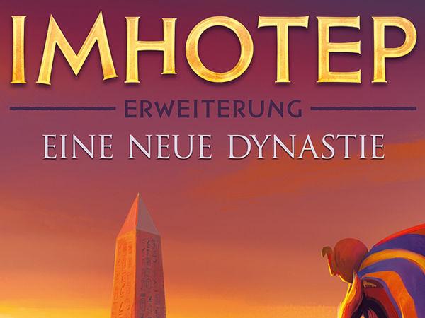 Bild zu Alle Brettspiele-Spiel Imhotep - Erweiterung: Eine neue Dynastie