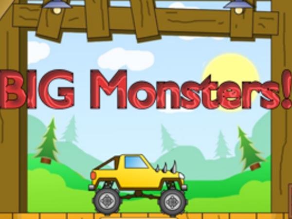 Bild zu HTML5-Spiel Big Monsters!