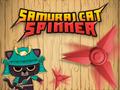 Geschick-Spiel Samurai Cat Spinner spielen